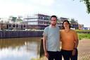 Uiteindelijk kozen Alex Langenhuijsen (39) en Sandra Wesselius (40) ervoor om een huis vanaf een tekening te kopen.