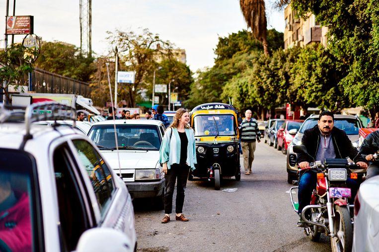 Ruth Vandewalle in hartje Caïro:
