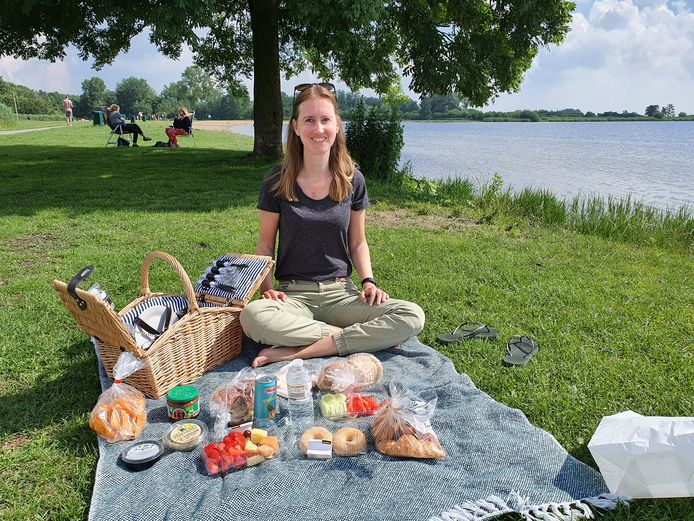 Zomerse picknick aan de Reewijkse Plassen.