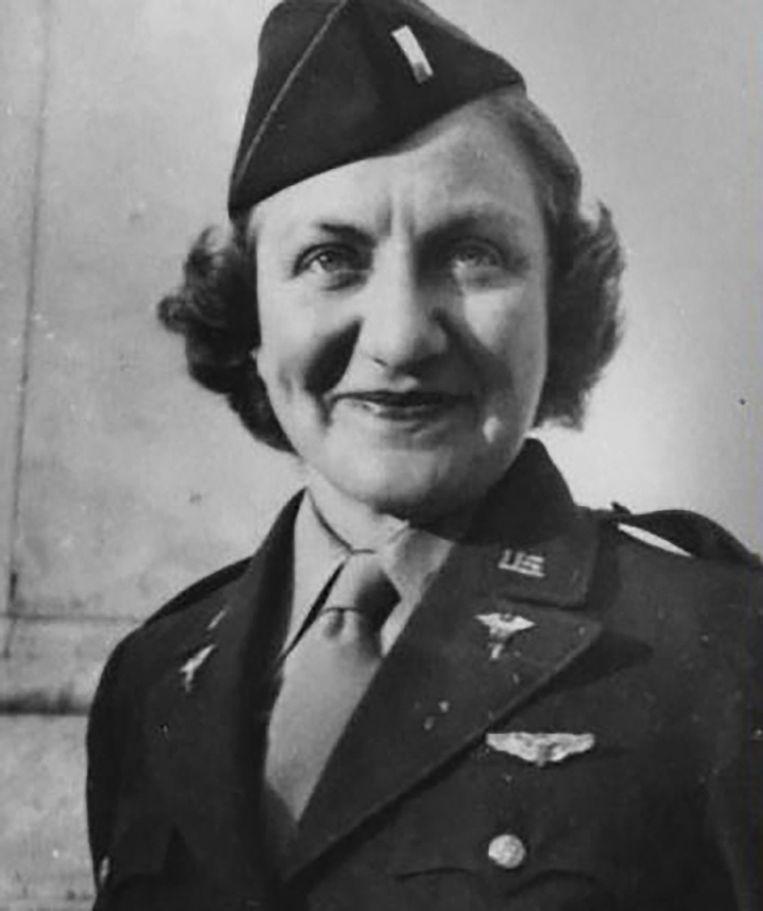 Truus Wijsmuller wist van de nazi's toestemming te krijgen om de kinderen te evacueren. 'Zij deed precies wat iedereen had moeten doen, maar niemand heeft gedaan.' Beeld privé