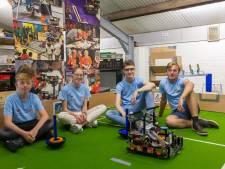 Jeugd van Meierijstad doet mee aan open online NK robots bouwen