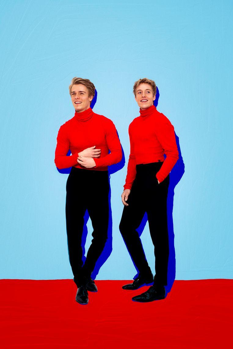 Arthur en Lucas Jussen. Beeld geen credits