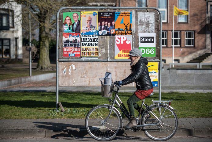 De partijen die in 2018 meededen aan de gemeenteraadsverkiezingen in Sluis.