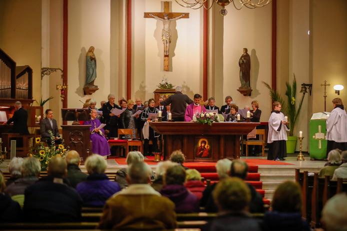 Askruismis in de Nicolaaskerk in Valkenswaard.