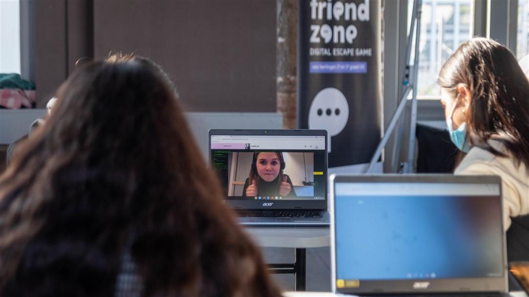 Technopolis lanceert online escape game Friend Zone