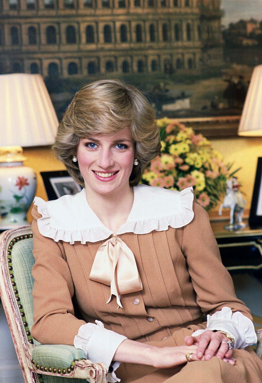 Princess Diana in Kensington Palace. Beeld Tim Graham Photo Library via Get