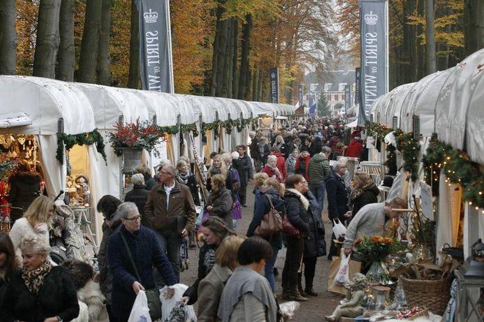 Spirit of Winter in 2014 op de voorterreinen van Paleis Het Loo in Apeldoorn.