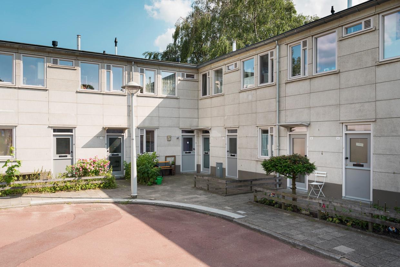 600 woningen aan de Eijkmanstraat zijn gerenoveerd.  Beeld Maarten Boswijk