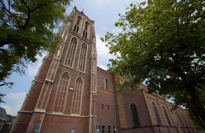 De Grote Kerk in Gorinchem.