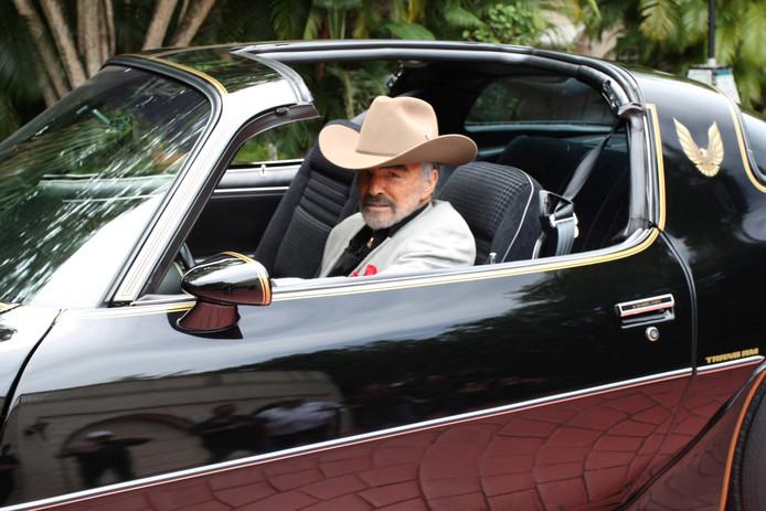 Burt Reynolds in zijn Pontiac Trans Am