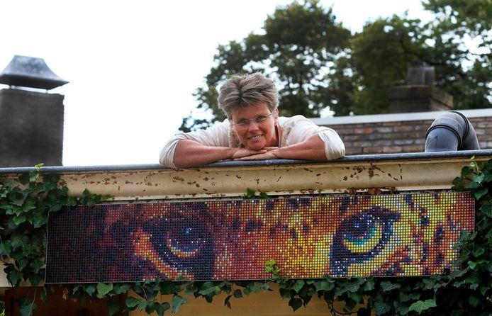 Kunstenares Irene Hemelaar foto : Gerard van Offeren/pix4profs