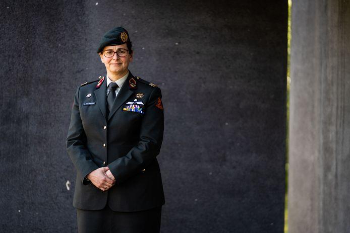 Generaal Nicole de Wolf.