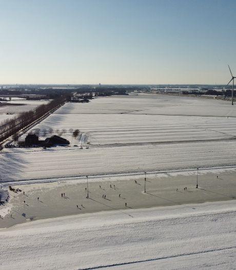 Het ijs wordt te slecht in IJzendoorn, om half twee gaat de baan dicht