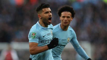 MULTILIVE: Kompany zet Man City in finale League Cup 0-2 voor tegen Arsenal