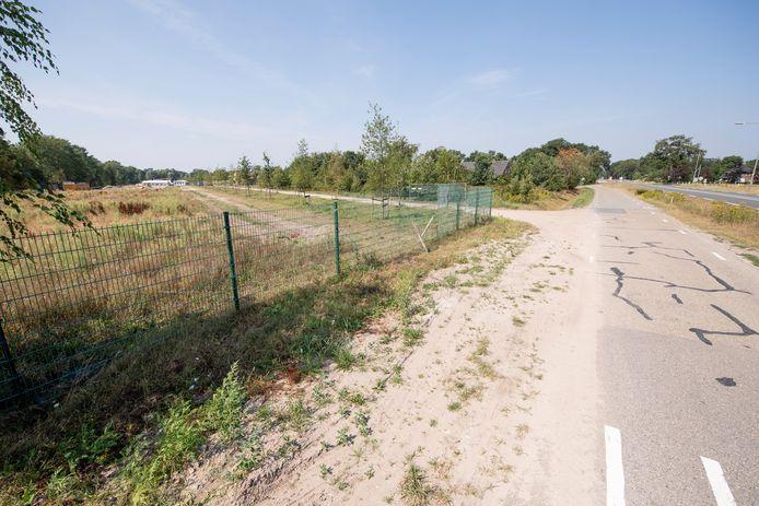 De bouwwerkzaamheden op De Bavinckel zijn behoorlijk opgeschoten sinds vorig jaar. Deze foto dateert uit augustus 2020.