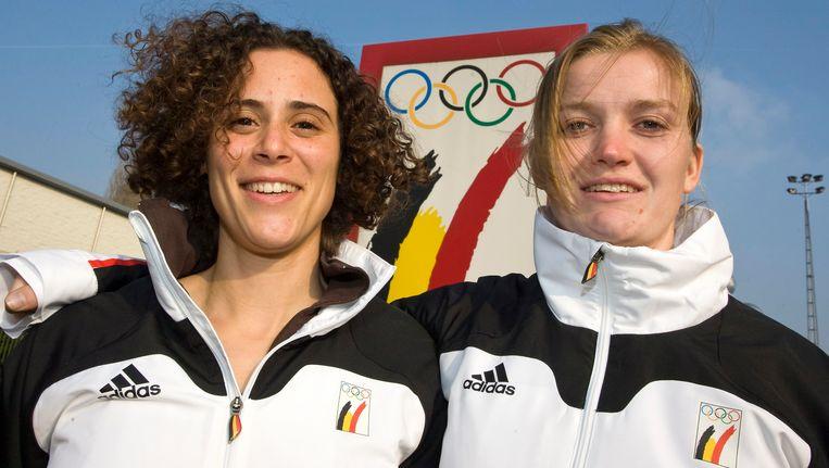 Elfje Willemsen en Eva Willemarck. Beeld BELGA