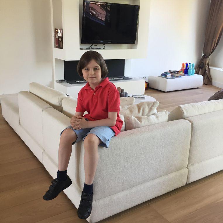 Het 8-jarige wonderkind, Laurent Beeld