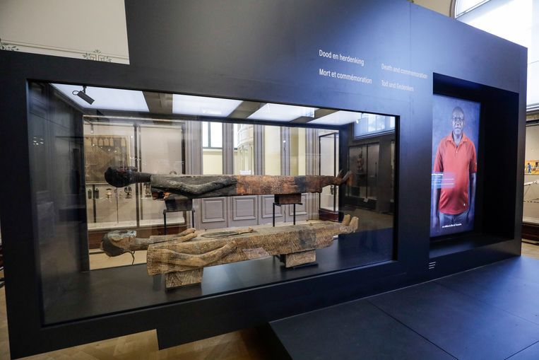 In het AfricaMuseum kom je voortaan niet louter voor artefacten, maar ook voor de stem van Afrikanen en Afro-Belgen. Beeld BELGA