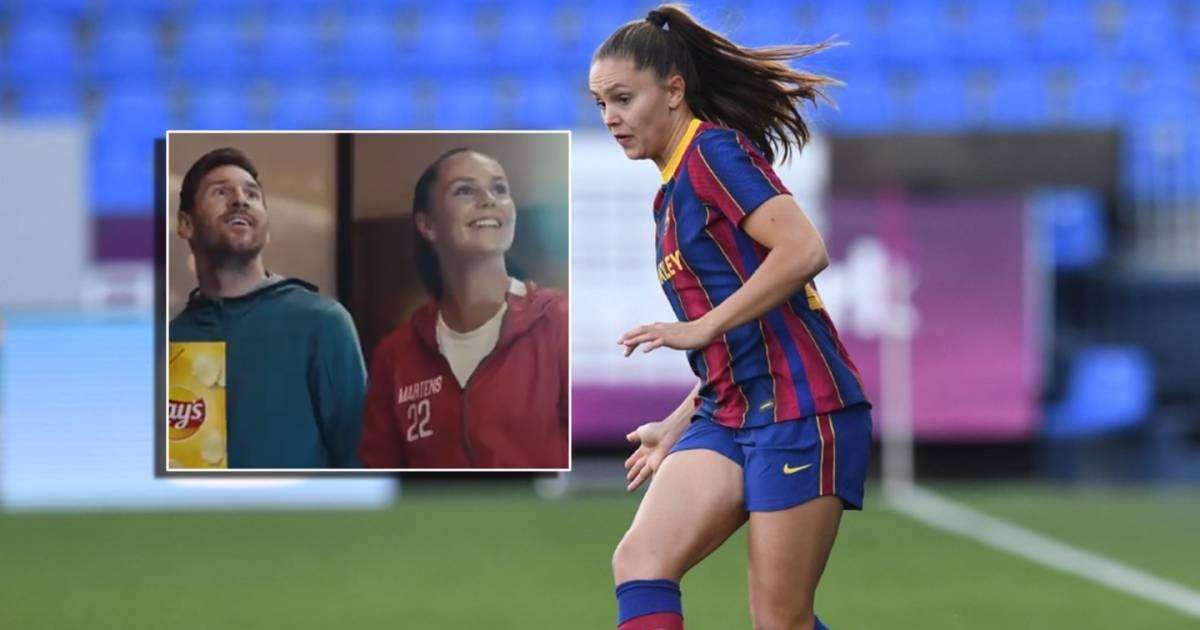 Lieke Martens geniet van reclame met Messi en Pogba: 'Mooi dat ik geen bijrolletje heb' - AD.nl