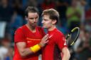 Rafael Nadal et David Goffin.