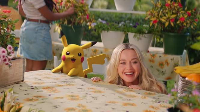 Katy Perry wordt Pokémontrainer in nieuwe videoclip 'Electric'