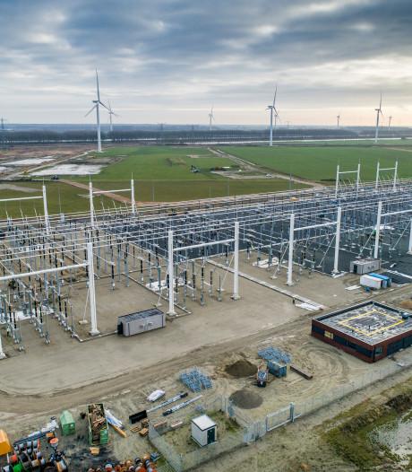 Nieuw hoogspanningsstation bij Rilland in gebruik genomen