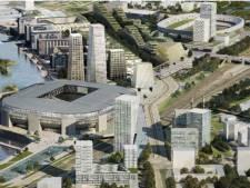 Ruim 400 Rotterdammers willen hun zegje doen over Feyenoord City: 'Kom van je luie reet af en doe iets'