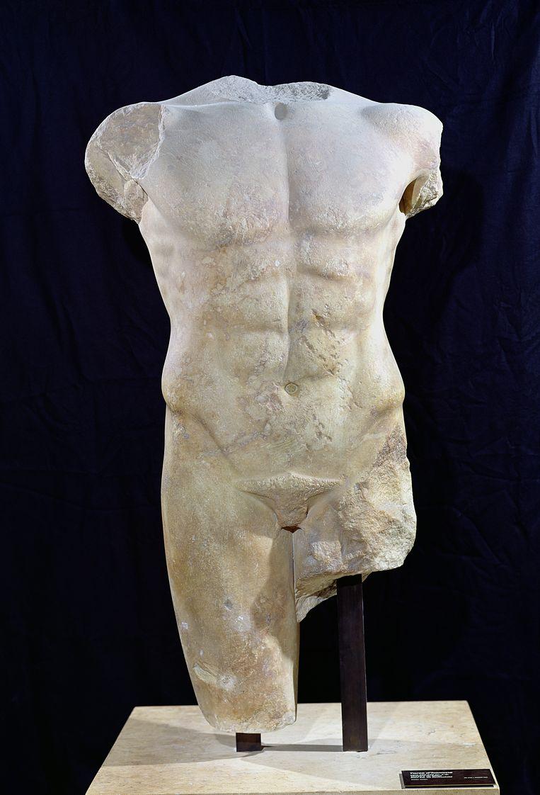 De marmeren torso van Milete, circa 480 v.Chr. Beeld Getty