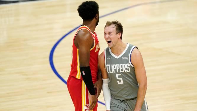 Invallers helpen LA Clippers aan overwinning tegen Atlanta in NBA