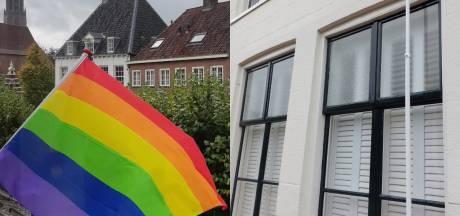 Kwajongensstreek of gericht geweld? Regenboogvlag in Amersfoort moest het dit weekend ontgelden