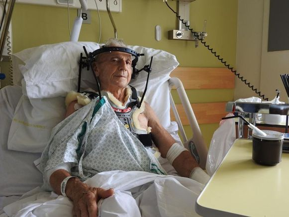 Marcel Matthys raakte zwaargewond en verblijft nog steeds in een revalidatiecentrum.