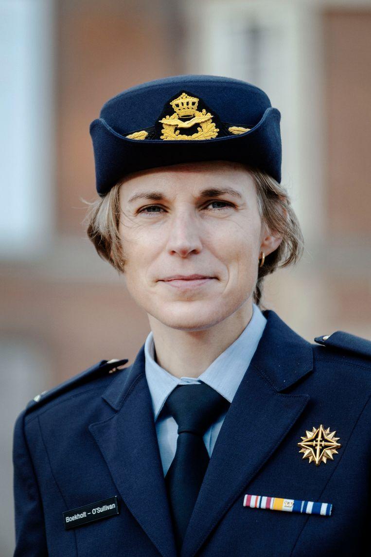 Generaal Boekholt-O'Sullivan op de KMA in Breda Beeld Merlin Daleman