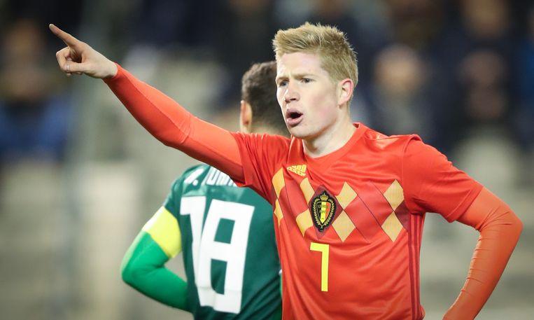 Kan Kevin De Bruyne België naar de halve finales leiden in Rusland?