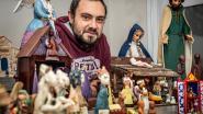 """Michael heeft 550 kerststalletjes uit 44 landen: """"Mijn oma zou trots geweest zijn"""""""