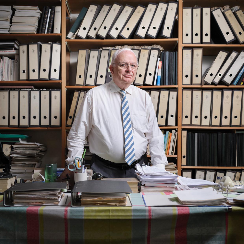 Criminoloog Cyrille Fijnaut: 'Het MIT is het domste plan in de Nederlandse politiegeschiedenis.' Beeld Erik Smits