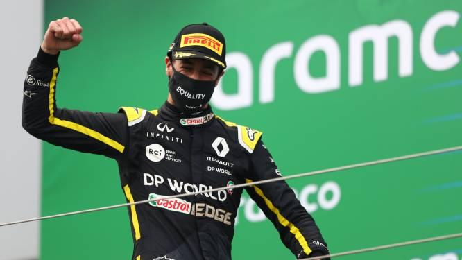 Ricciardo gaat 'Duitse' tatoeage uitzoeken voor teambaas Renault