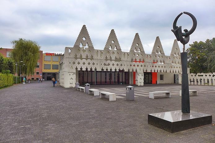 De entree van het SintLucas in Boxtel.
