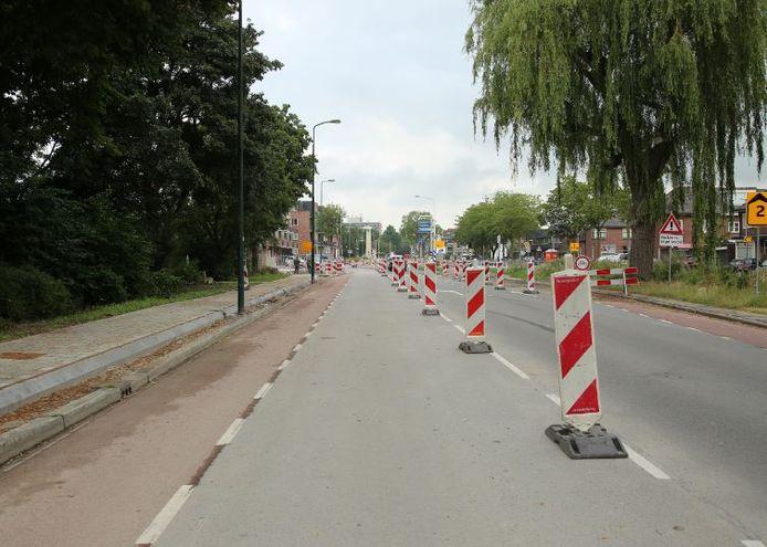 De werkzaamheden aan de Boerendijk liggen tot en met half augustus stil vanwege de bouwvak.