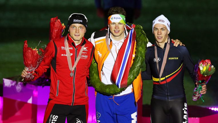 Bøkko (links) met Kramer en Swings Beeld epa