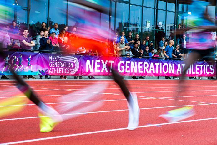 Sfeerbeeld van Next Generation Athletics in Nijmegen. Foto genomen tijdens een eerdere editie.