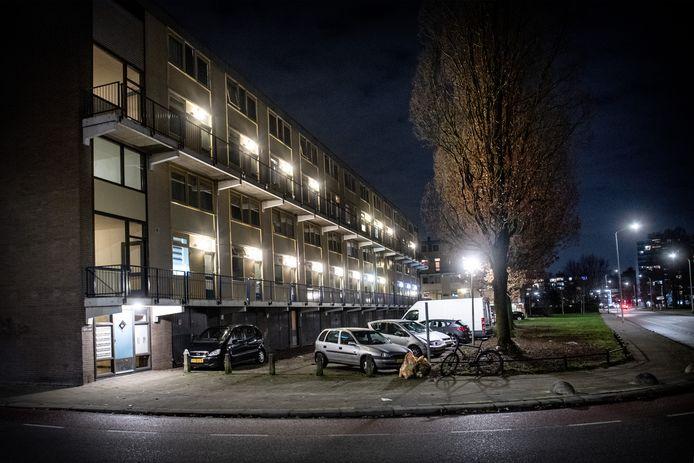 De flat in de Nijmeegse wijk Lankforst.