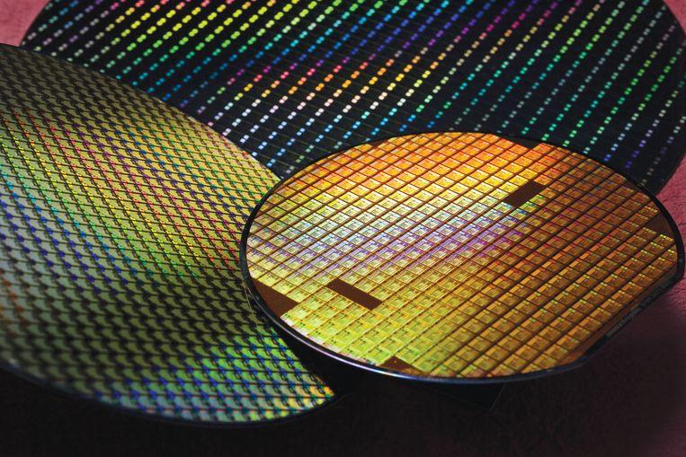 Productie van Semiconductors / chips bij het Taiwanese TSMC Beeld TSMC