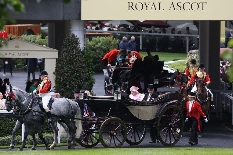 Royal Ascot June 15, 2016. Beeld Hollandse Hoogte / AFP