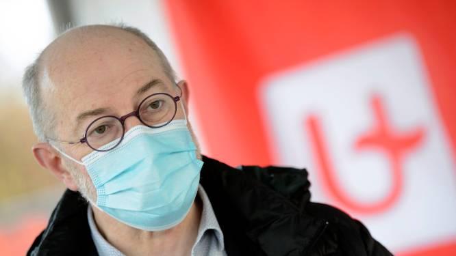 """Van Damme: """"Een paar mensen blijft ondanks vaccinatie vatbaar voor het virus, met dat risico moeten we leren leven"""""""