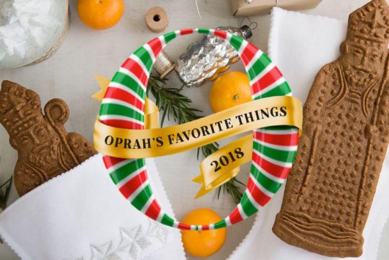 Oprah nam de biologische, artisanale Sinterklaas-speculooskoekjes van de Belgische expat Eva Ballegeer op in haar geschenkengids van haar 'favoriete dingen' van dit jaar.