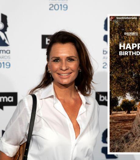 Leontine staat stil bij verjaardag van Marco Borsato