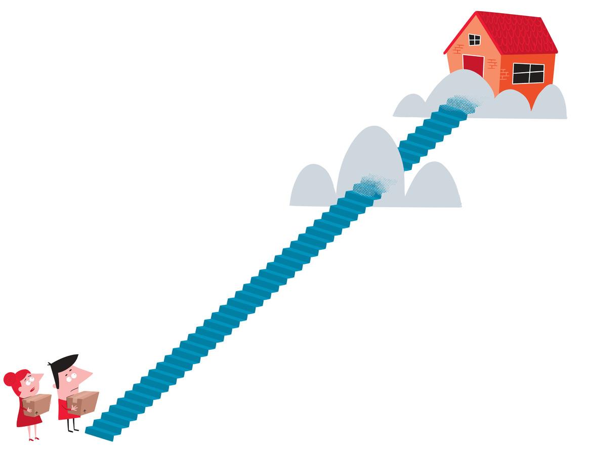 Voor veel jongeren is een eigen huis onbereikbaar geworden en de huurprijzen rijzen de pan uit. Voor sociale huurwoningen bestaan lange wachtlijsten.