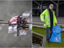 Gemist? Hengelose afvalprikker zorgt voor vrolijkheid en plan voor netwerk van drones boven Twente