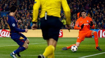 """Britse media scherp voor Chelsea-doelman: """"Een wonder dat bij affluiten Messi himself niet door de benen van Courtois was gelopen"""""""