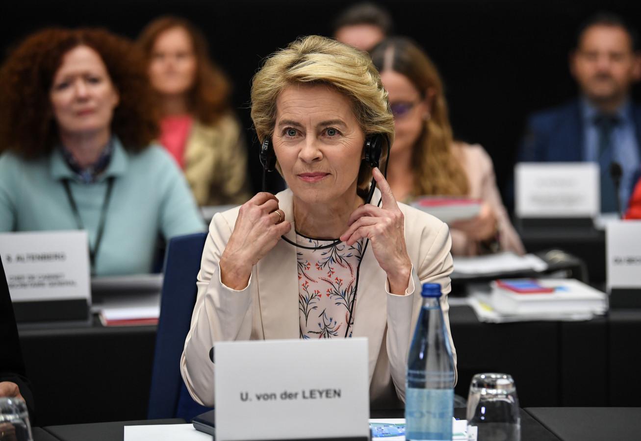 Toekomstig Commissievoorzitter Ursula von der Leyen